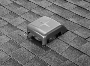 this is what a roof vent commonly looks like